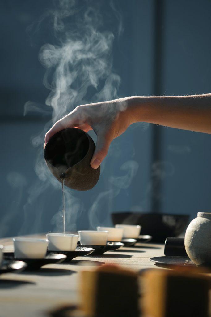 thé partagé